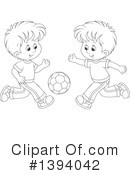 Boy Clipart #1394042 by Alex Bannykh
