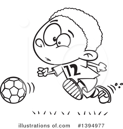 Soccer Clipart #1394977 by toonaday