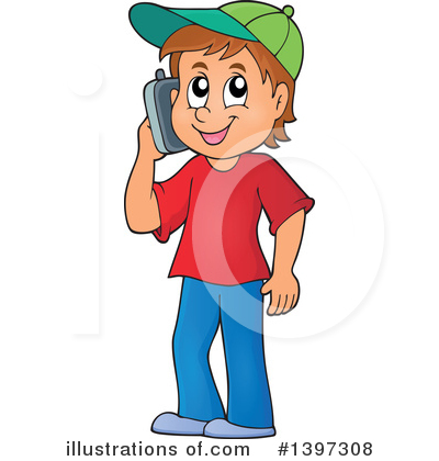 Royalty-Free (RF) Boy Clipart Illustration by visekart - Stock Sample #1397308