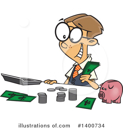 Finance Clipart #1400734 by toonaday