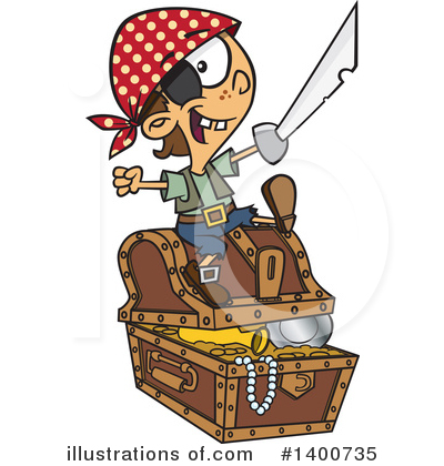 Pirate Clipart #1400735 by toonaday