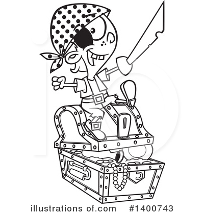 Pirate Clipart #1400743 by toonaday