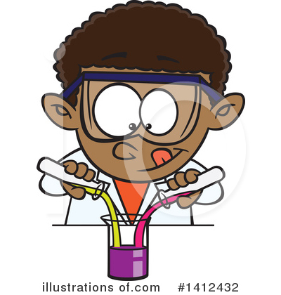 School Boy Clipart #1412432 by toonaday