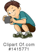 Royalty-Free (RF) Boy Clipart Illustration #1415771