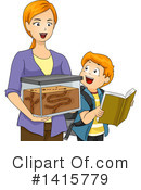 Royalty-Free (RF) Boy Clipart Illustration #1415779