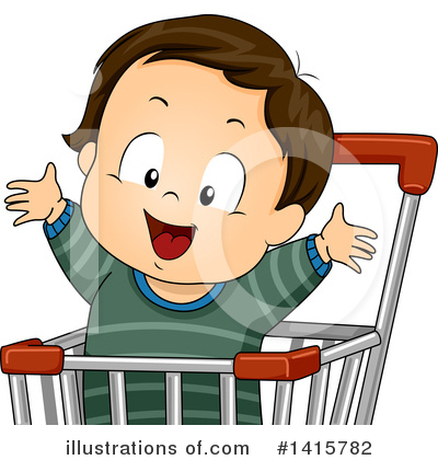 Shopping Cart Clipart #1415782 by BNP Design Studio