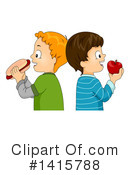 Royalty-Free (RF) Boy Clipart Illustration #1415788