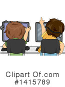 Royalty-Free (RF) Boy Clipart Illustration #1415789