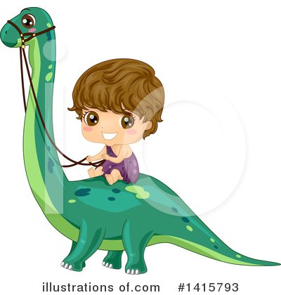 Dinosaur Clipart #1415793 by BNP Design Studio