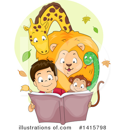 Wild Animals Clipart #1415798 by BNP Design Studio