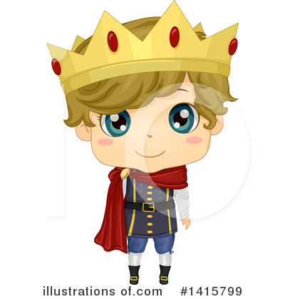 Prince Clipart #1415799 by BNP Design Studio