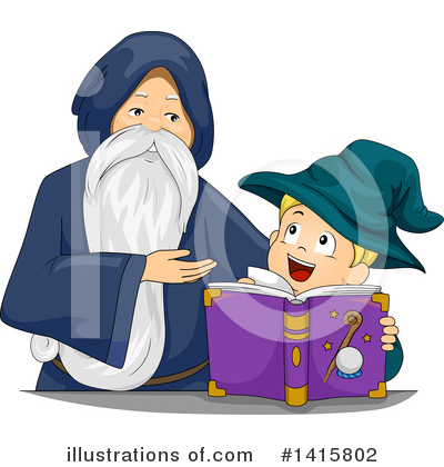 Spell Book Clipart #1415802 by BNP Design Studio