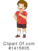 Royalty-Free (RF) Boy Clipart Illustration #1415805