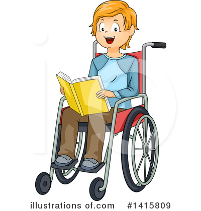 Wheelchair Clipart #1415809 by BNP Design Studio