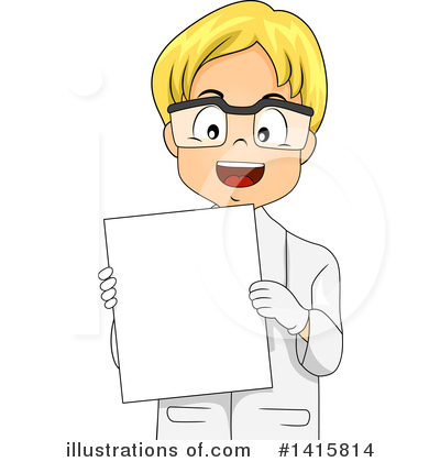 Scientist Clipart #1415814 by BNP Design Studio