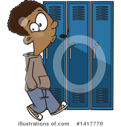 School Boy Clipart #1417770 by toonaday