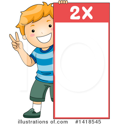 Number Clipart #1418545 by BNP Design Studio