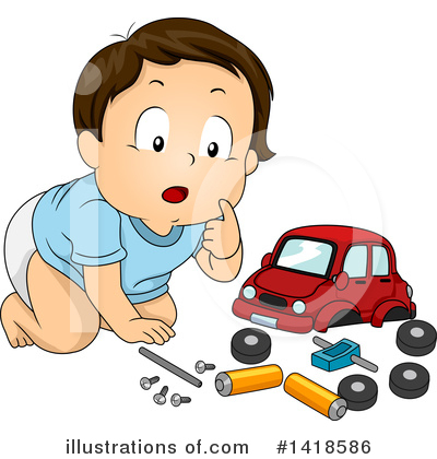 Car Clipart #1418586 by BNP Design Studio