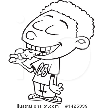 Royalty-Free (RF) Boy Clipart Illustration by toonaday - Stock Sample #1425339
