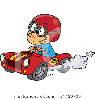 Royalty-Free (RF) Boy Clipart Illustration by toonaday - Stock Sample #1430726