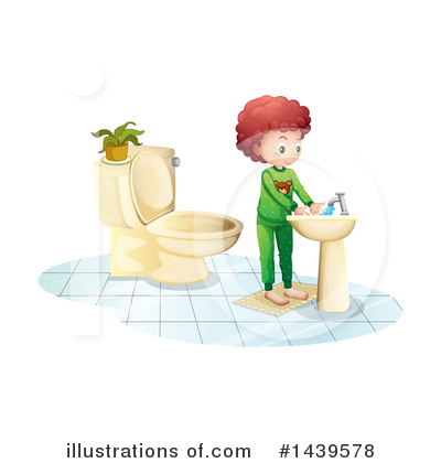 Hand Washing Clipart #1439578 by Graphics RF