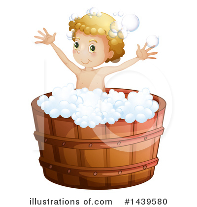 Bathing Clipart #1439580 by Graphics RF