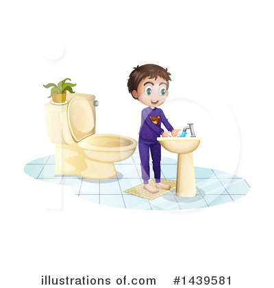 Hand Washing Clipart #1439581 by Graphics RF