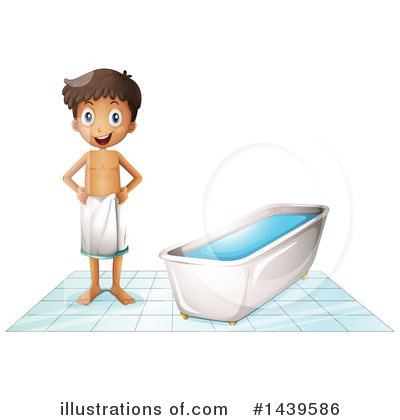 Bathing Clipart #1439586 by Graphics RF