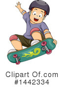Royalty-Free (RF) Boy Clipart Illustration #1442334