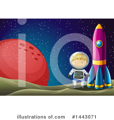 Astronaut Clipart #1443071 by Graphics RF