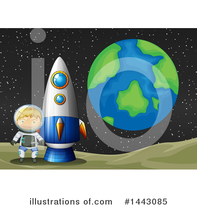 Astronaut Clipart #1443085 by Graphics RF