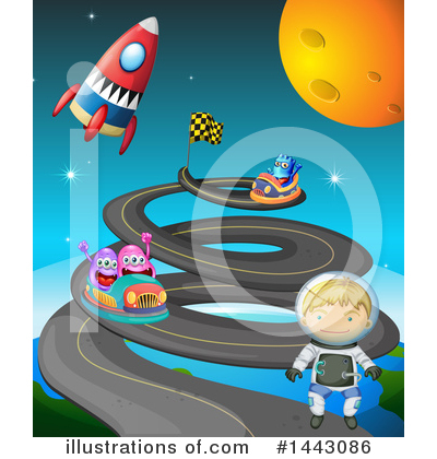 Astronaut Clipart #1443086 by Graphics RF