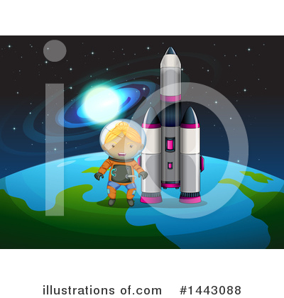 Astronaut Clipart #1443088 by Graphics RF