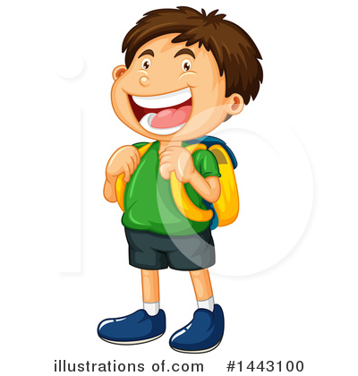 School Clipart #1443100 by Graphics RF