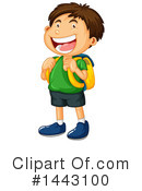 Royalty-Free (RF) Boy Clipart Illustration #1443100