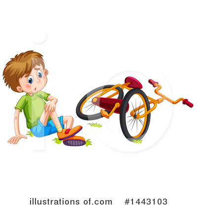 Bicycle Clipart #1443103 by Graphics RF