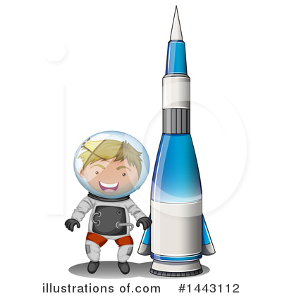 Astronaut Clipart #1443112 by Graphics RF