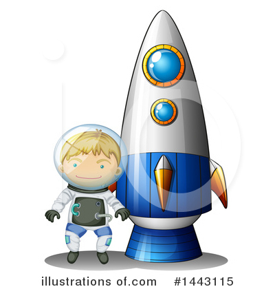 Astronaut Clipart #1443115 by Graphics RF