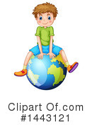 Royalty-Free (RF) Boy Clipart Illustration #1443121