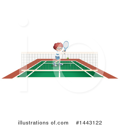 Tennis Clipart #1443122 by Graphics RF