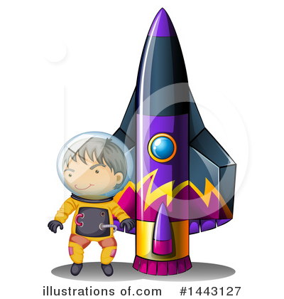 Astronaut Clipart #1443127 by Graphics RF