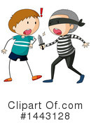 Royalty-Free (RF) Boy Clipart Illustration #1443128