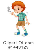 Royalty-Free (RF) Boy Clipart Illustration #1443129