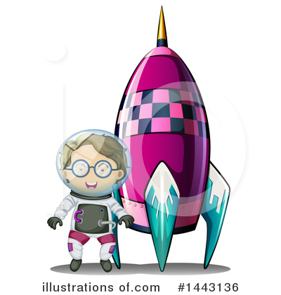 Astronaut Clipart #1443136 by Graphics RF