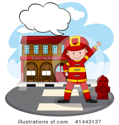 Fireman Clipart #1443137 by Graphics RF