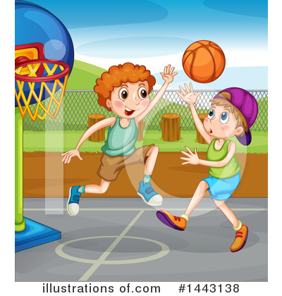 Basketball Clipart #1443138 by Graphics RF
