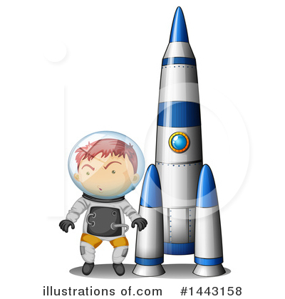 Astronaut Clipart #1443158 by Graphics RF