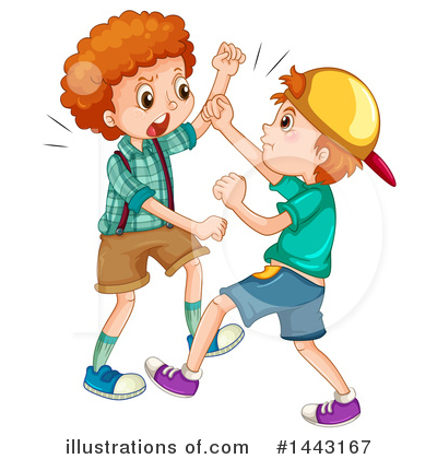 Bullying Clipart #1443167 by Graphics RF