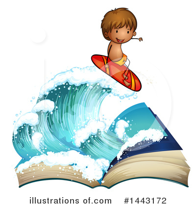 Surfer Clipart #1443172 by Graphics RF