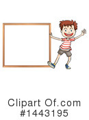 Boy Clipart #1443195 by Graphics RF